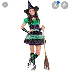 Witch Costume - Juniors - Small - NWT